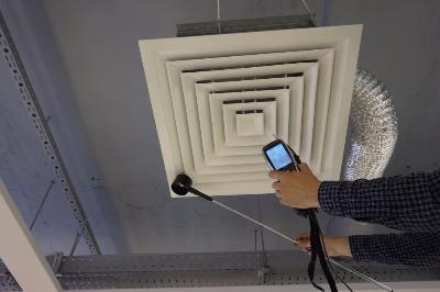 Проверка эффективности функционирования вентиляции